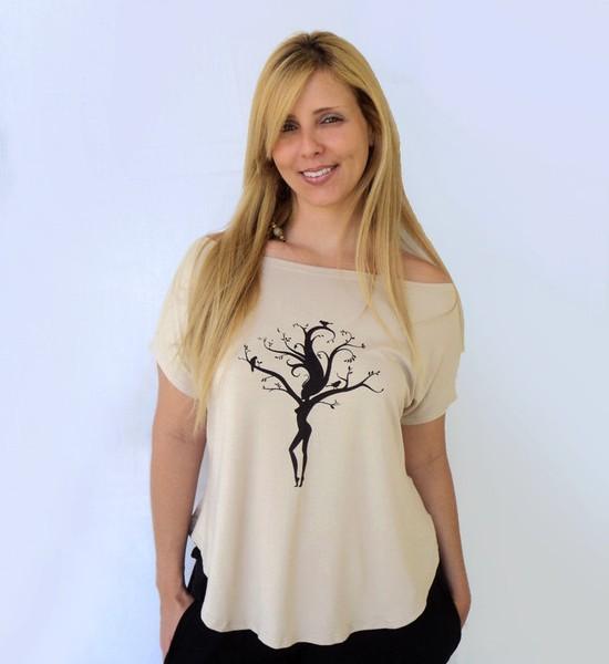 Blusa Manala Mulher Árvore