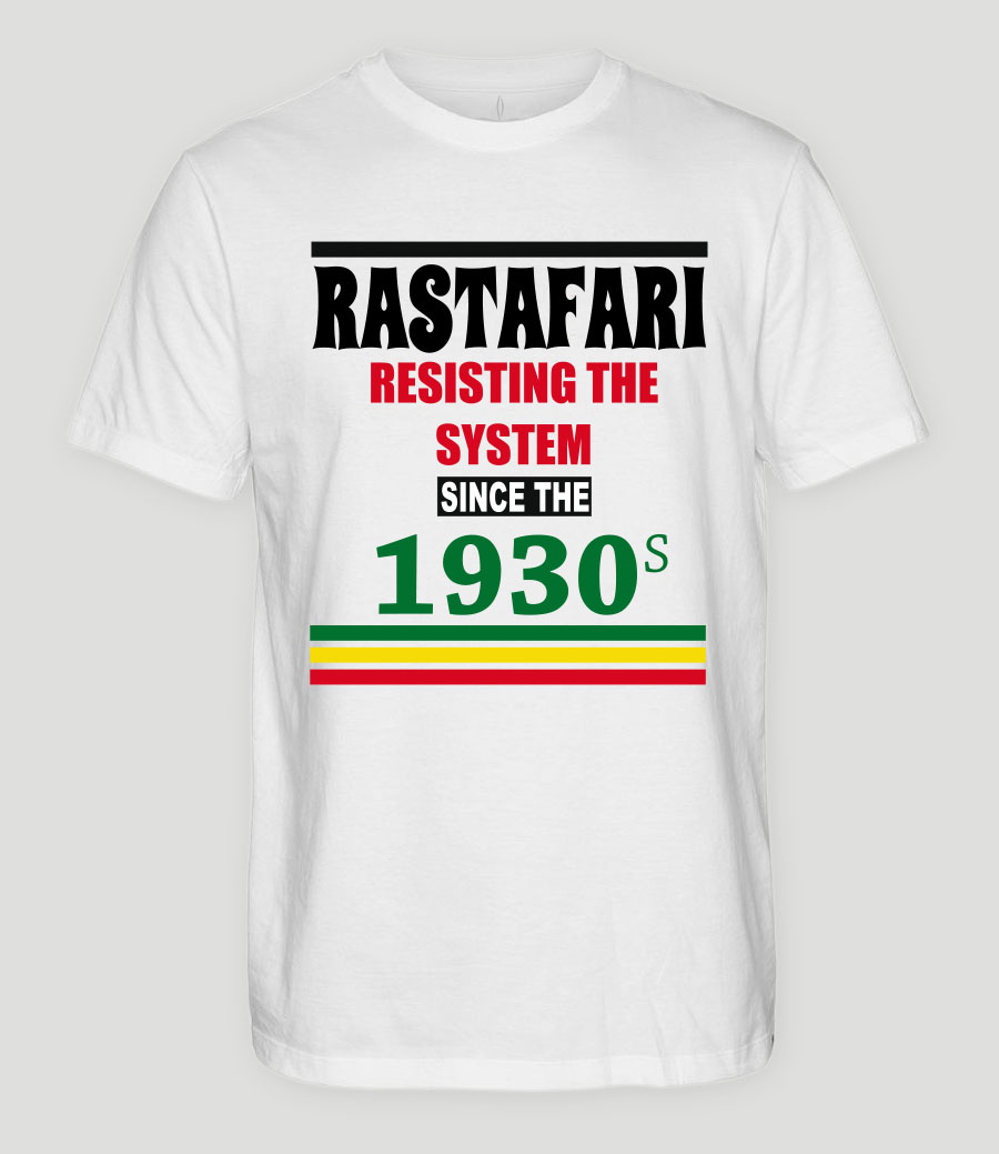 camiseta-rastafaria-resisting-the-system-since-1930