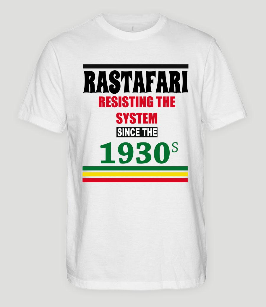 camiseta-rastafaria-resisting-the-system-since-1930