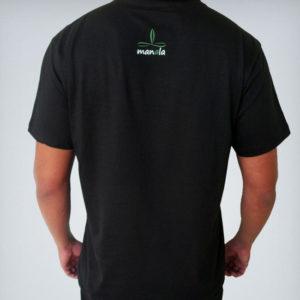 camisa manala preta costas