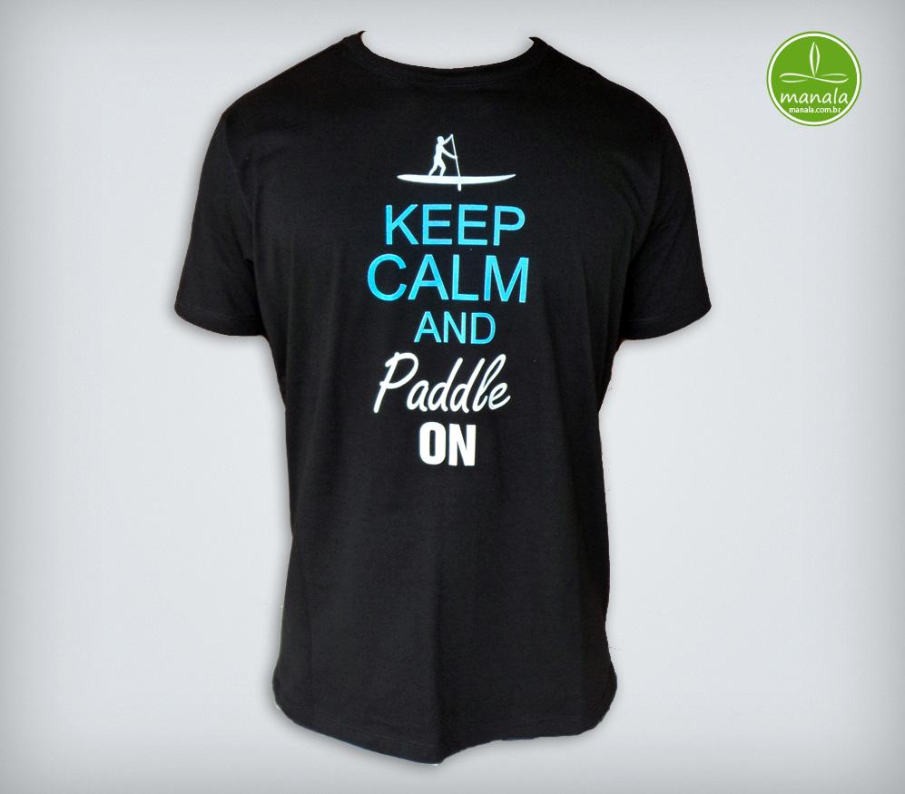 Camisa Stand Up Paddle SUP Preta