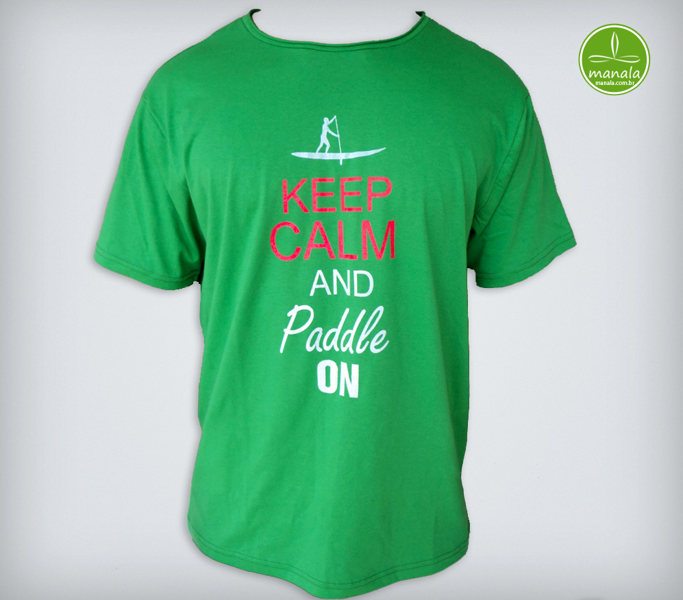 Camisa Stand Up Paddle SUP Verde
