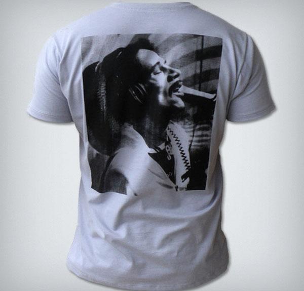 Camisa de Reggae Bob Marley com Bolso