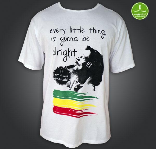 Camisa de Reggae Bob Marley