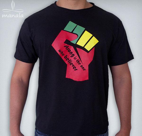 Camisa de Reggae Punho