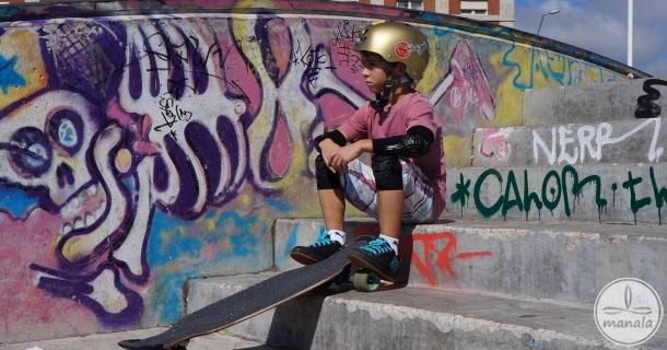 Anton McCampbell - Fenômeno de 7 anos do Longboard