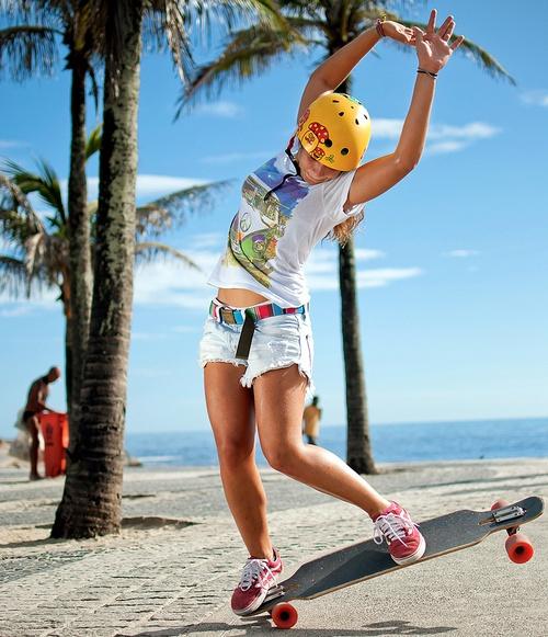 Benefícios do skata para mulher