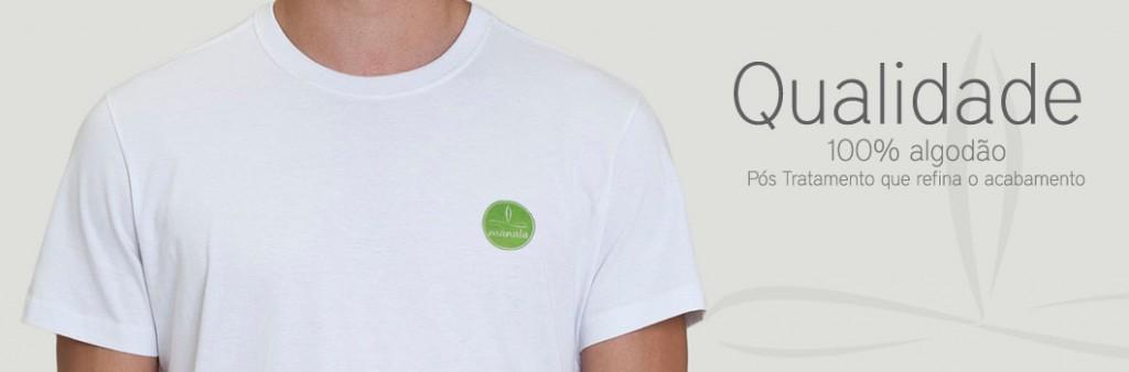 Camisetas Qualidade Manala