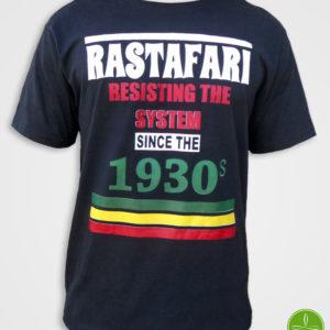 Camiseta Rastafari Reggae Manala