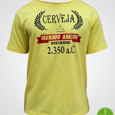Camiseta Cerceja Reunindo Amigos de 2350 ac
