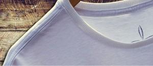 Detalhes da Ribana da Gola das Camisetas