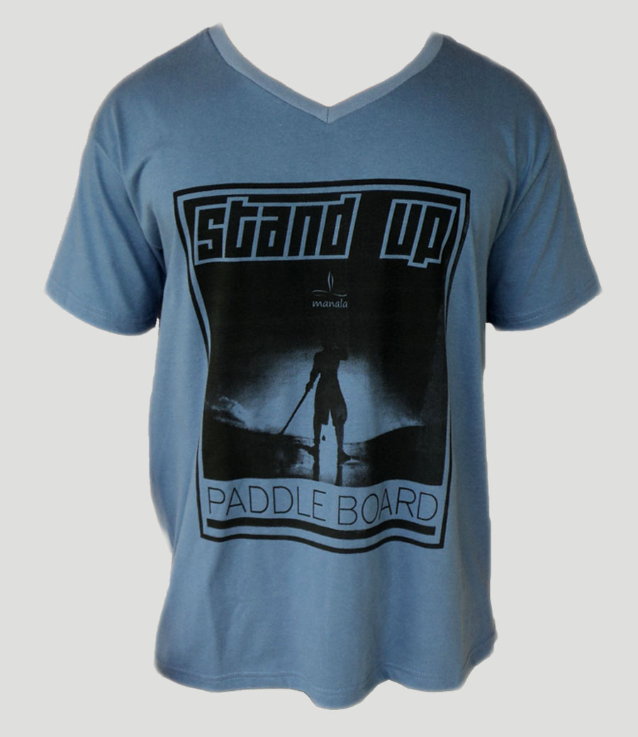 Camisa Stand up Paddle Azul
