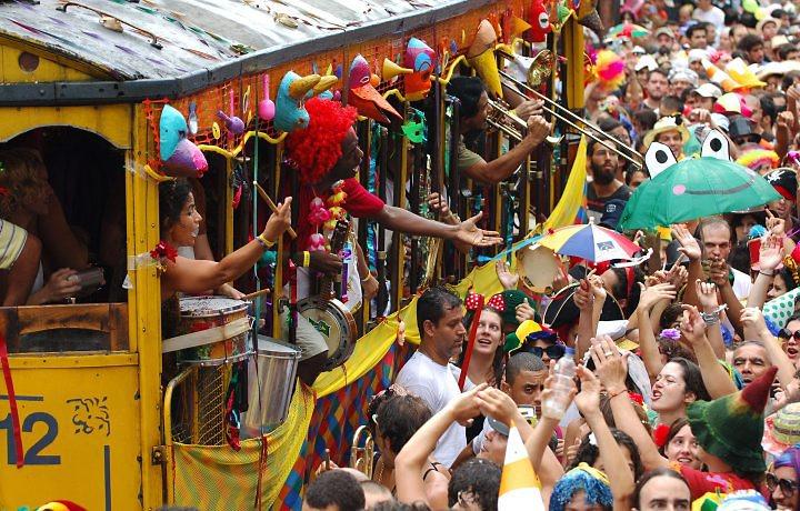 Bloco de rua Carnaval do Rio de Janeiro 2014