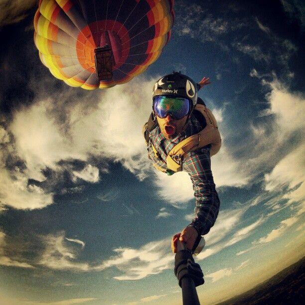 selfie radical salto