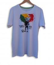 camisa bob marley futebol
