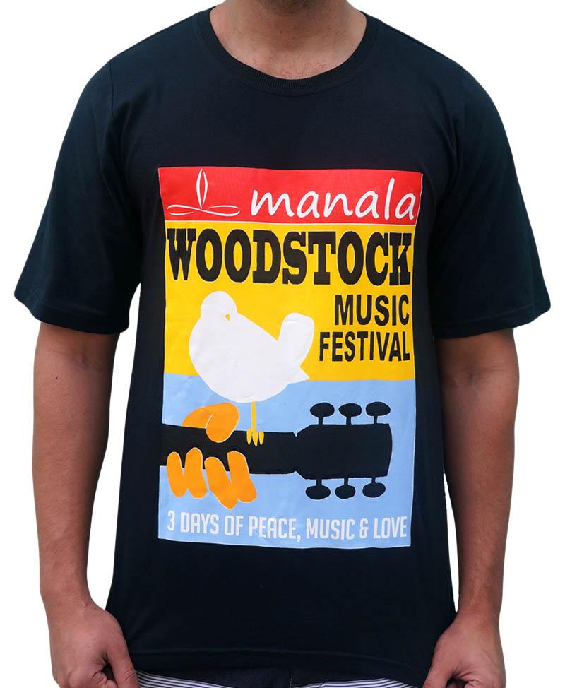 Camiseta Woodstock Manala