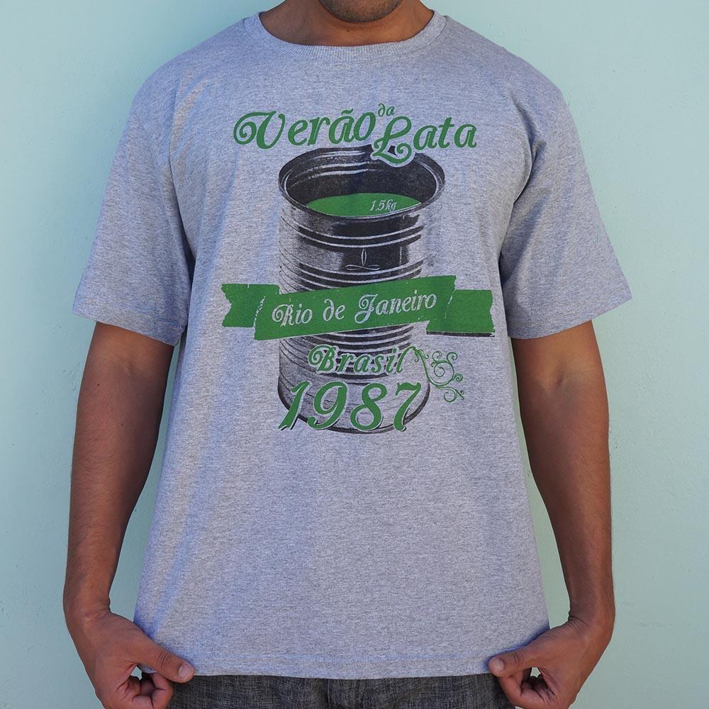 Camiseta Manala verão da lata cinza