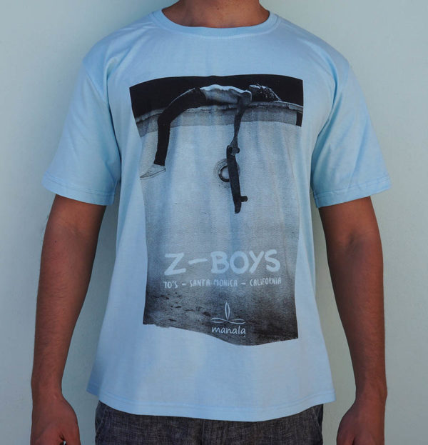 Camiseta Zboys Manala Azul