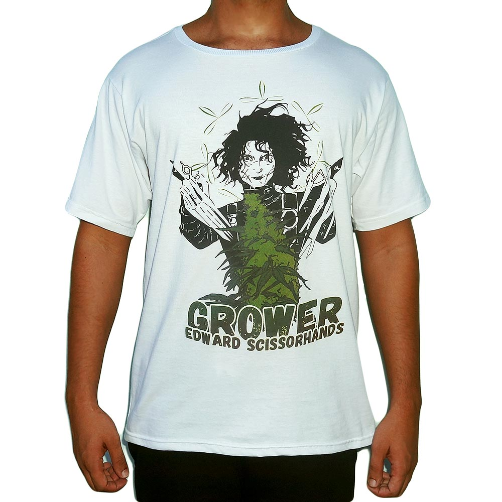 Camiseta Edward Mãos de Tesoura Grower