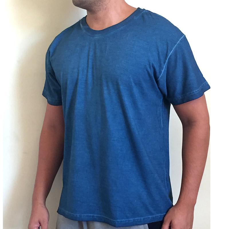 camiseta-estonada-lisa-azul-lateral