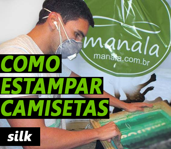 Como Estampar Camisetas Silk screen
