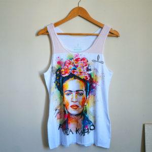 Camiseta Regata Frida Kahlo