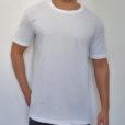 Camiseta estonada branca