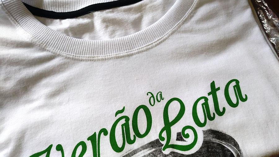 Camiseta Lisa Acabamento