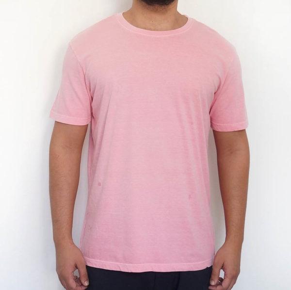 Camiseta Estonada Rosa