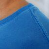 Camiseta Estonada Azul - gola