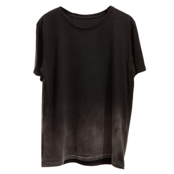 camiseta estonada degradê