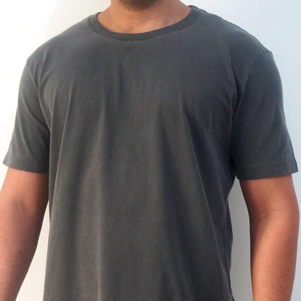 Camiseta Estonada Lisa Grafite High Quality - Manala - Camisetas ... 61004a777e1