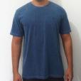 camiseta estonada azul premium