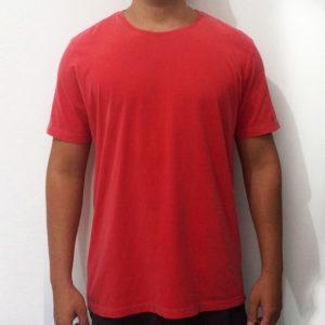 Camiseta Estonada Vermelha Premium